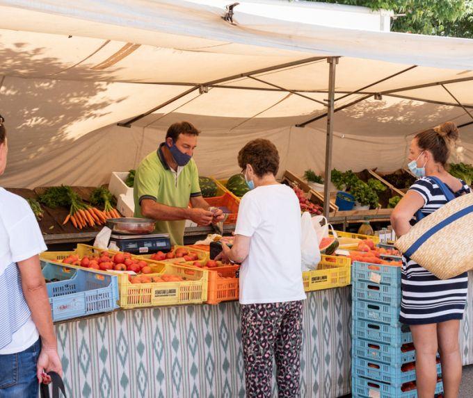 Los mercados agrícolas de Mallorca